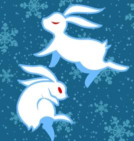 ウサギ2 082275