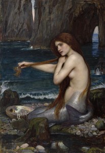 人魚姫 John_William_Waterhouse_-_Mermaid