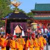 京都時代祭2021 行列中止が決定!例年の日程・コース・只見の穴場は?